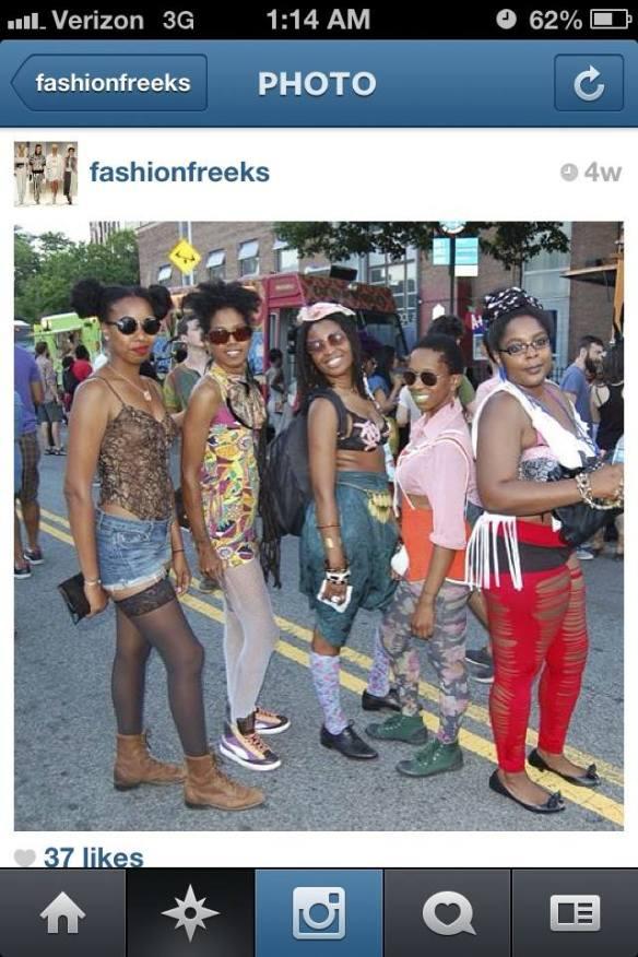 Fashionfreaks Afro Punk 2013