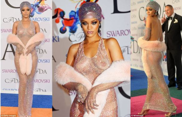 Shimmy Shimmy Ya'll! Rihanna Strikes While the Glitter is Hot